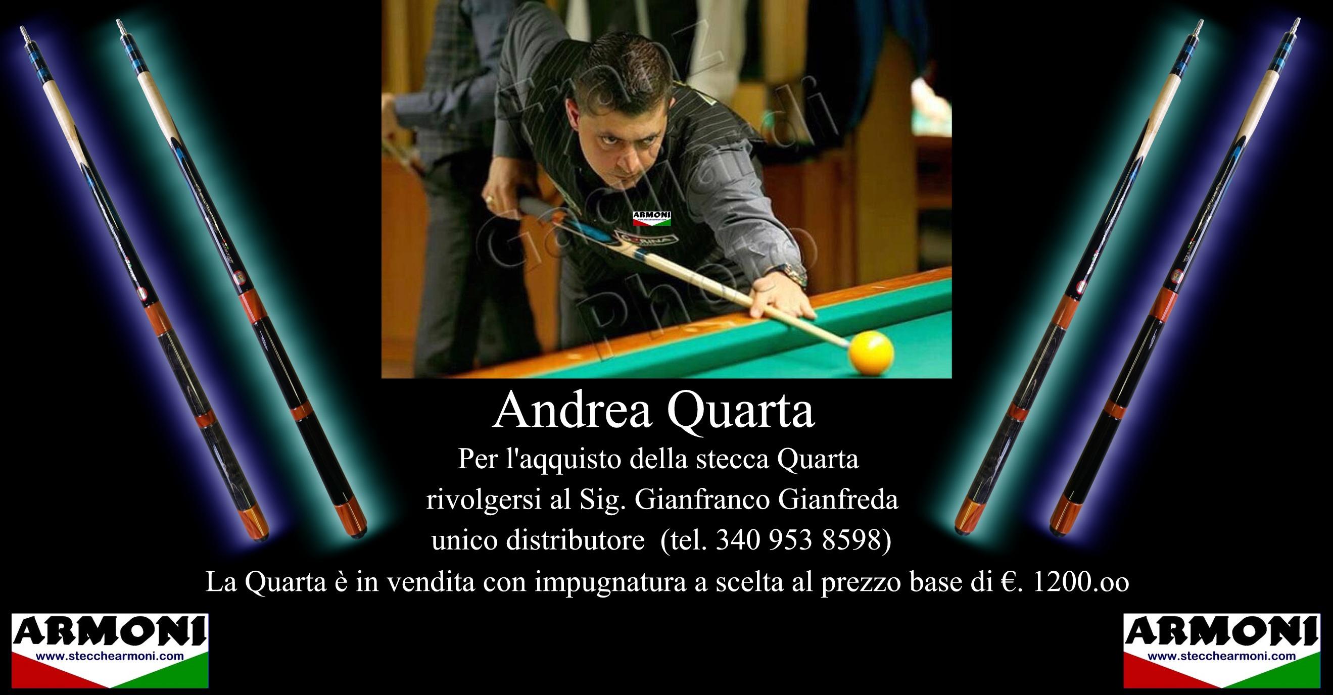 ANDREA QUARTA B